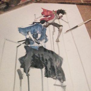 Geoff Pascaul - Samurai Champloo - Add color