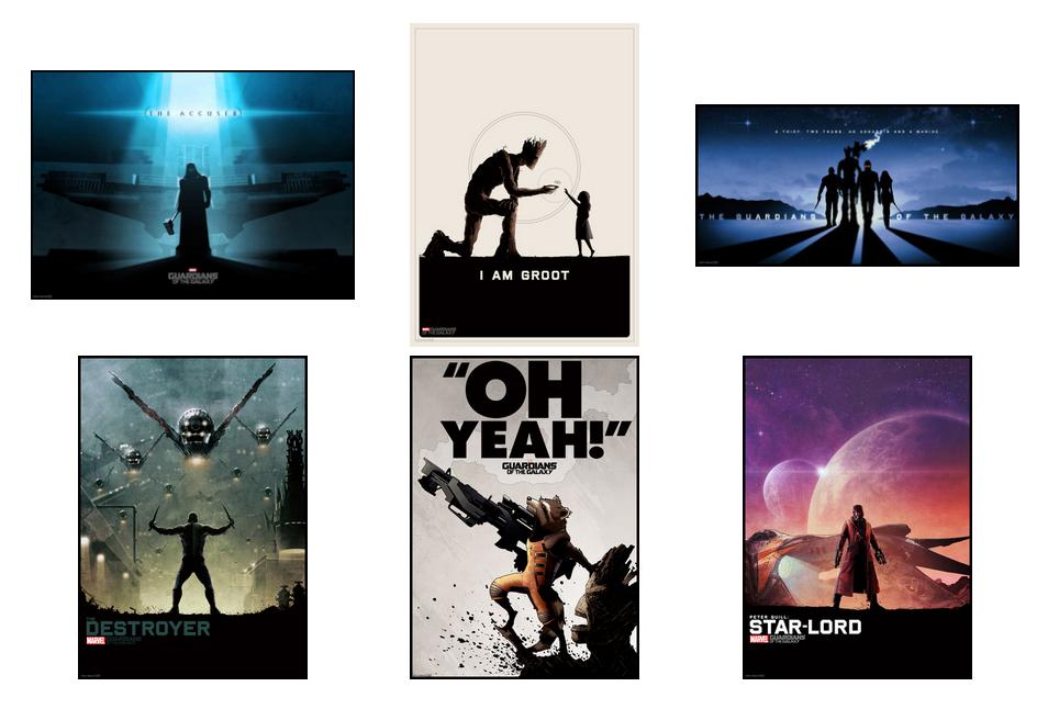 Matt Ferguson - Guardians of the Galaxy Official Posters
