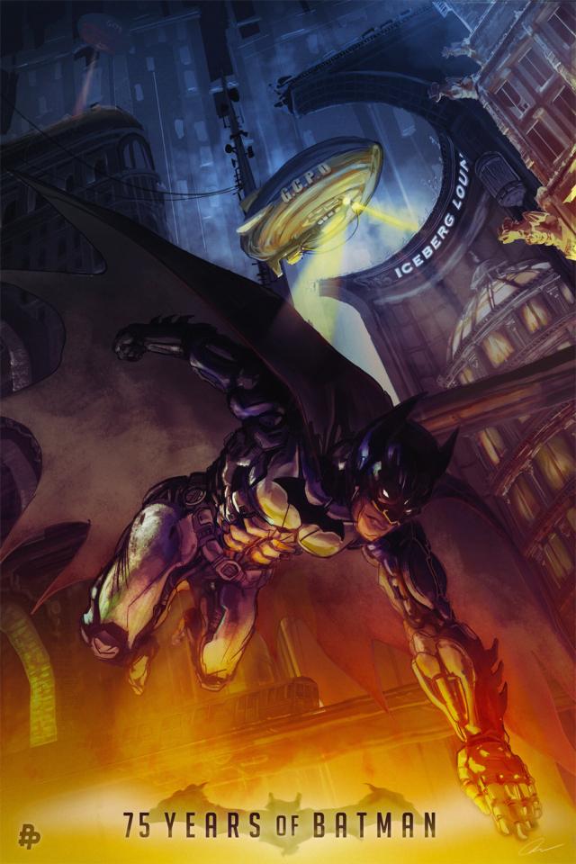 John Hughes – Batman 75