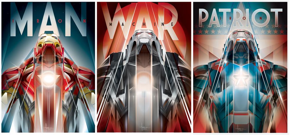 Iron Man Foil - Orlando Arocena