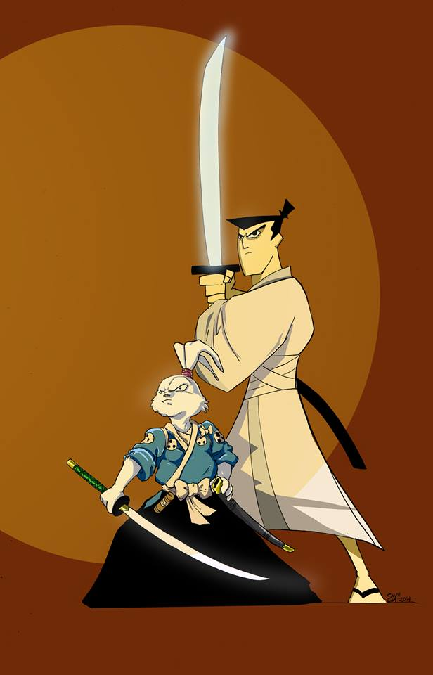 Jack and Usagi - Savy Lim