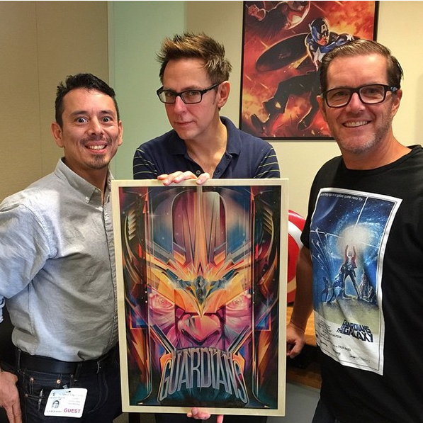 Guardians of the Galaxy II - Orlando Arocena, James Gunn and Don Thompson