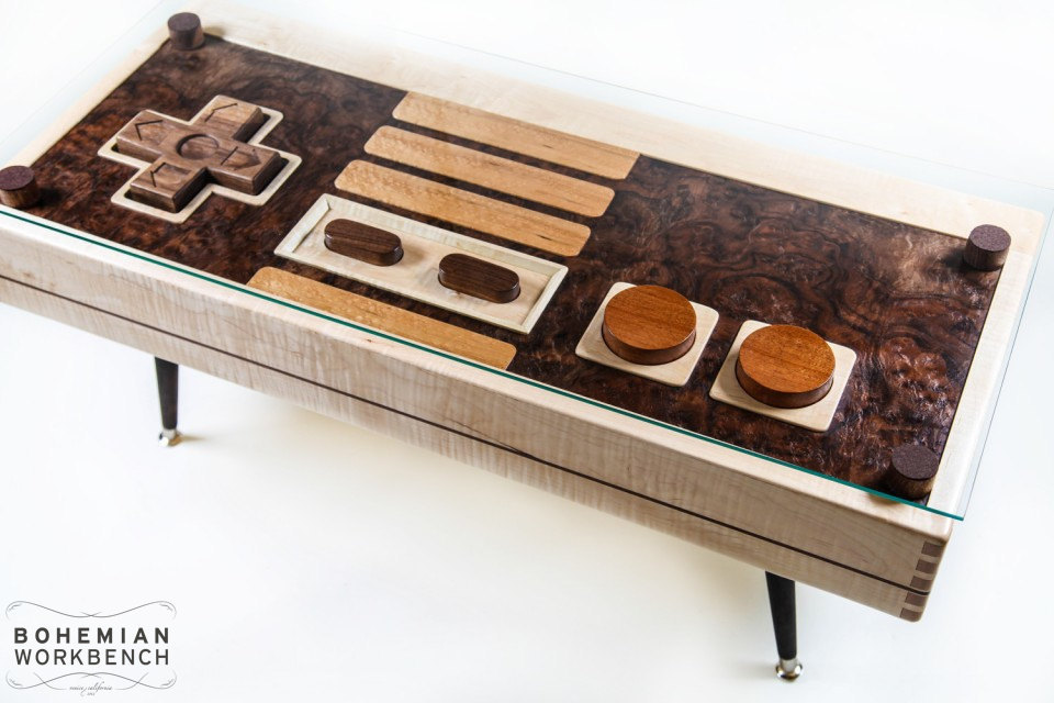 Nintendo Entertainment System - NES Controller by Bohemian Workbench
