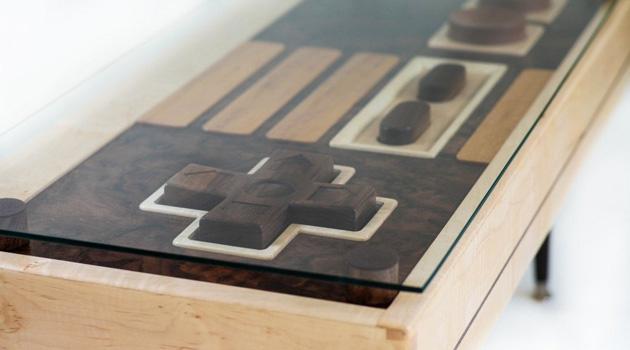 Nintendo Table by Bohemian Workbench