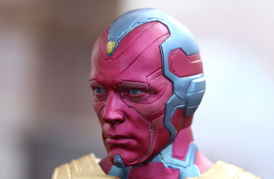 Hot Toys reveals The Vision - From Marvel's Avengers: Age of Ultron.