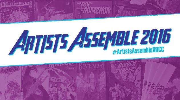 Artists Assemble SDCC 2016