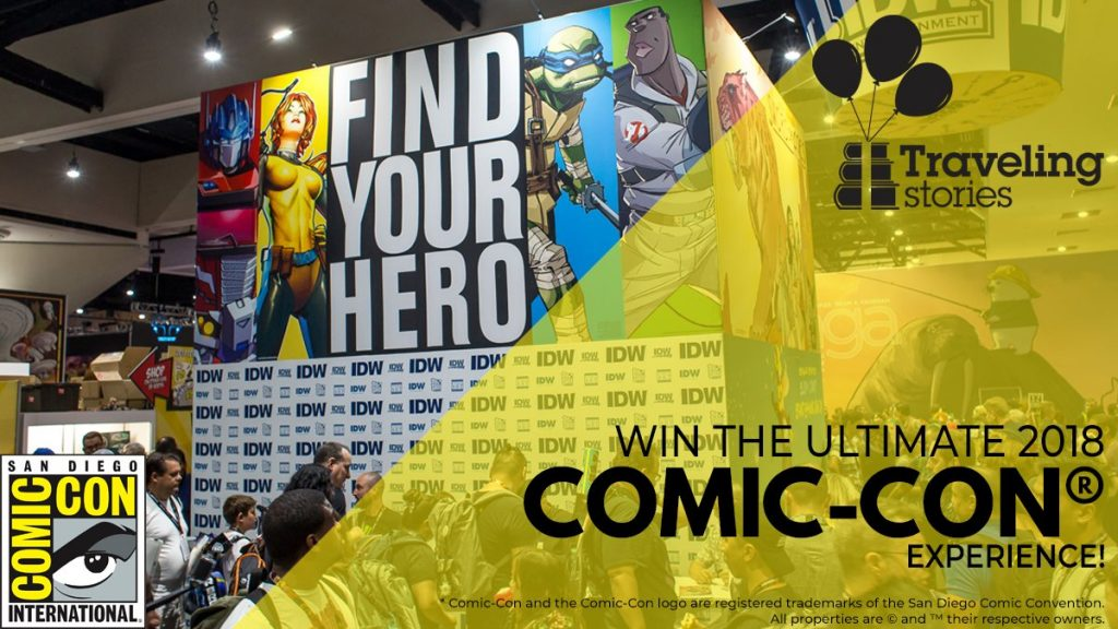 Win the ultimate Comic-Con experience!