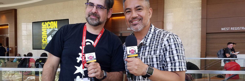 Hall H Show - Rob Salkowitz - San Diego Comic Con 2018